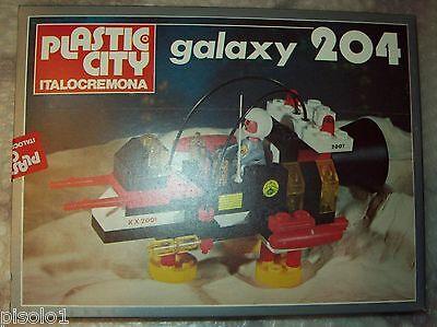 Vintage Plastic City Italo cremona serie Galaxy dal n 204
