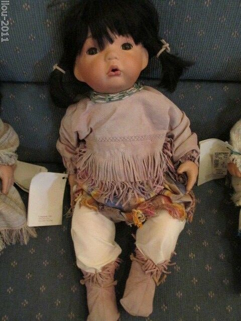 CHARADES- NATIVE AMERICAN COLLECTION DOLL- 21