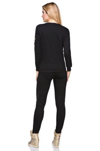 Damen Glänzend Hausanzug Trainingsanzug Freizeit Streetwear, Outwearlinie