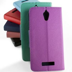 Wallet-Flip-Pouch-Phone-Carrying-Cover-Case-w-Screen-Protector-for-ZTE-Obsidian