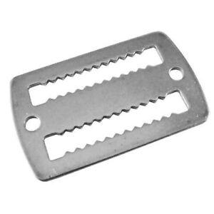 Scuba Diving Stainless Steel Weight 2/'/'//5cm Belt Webbing Keeper Retainer