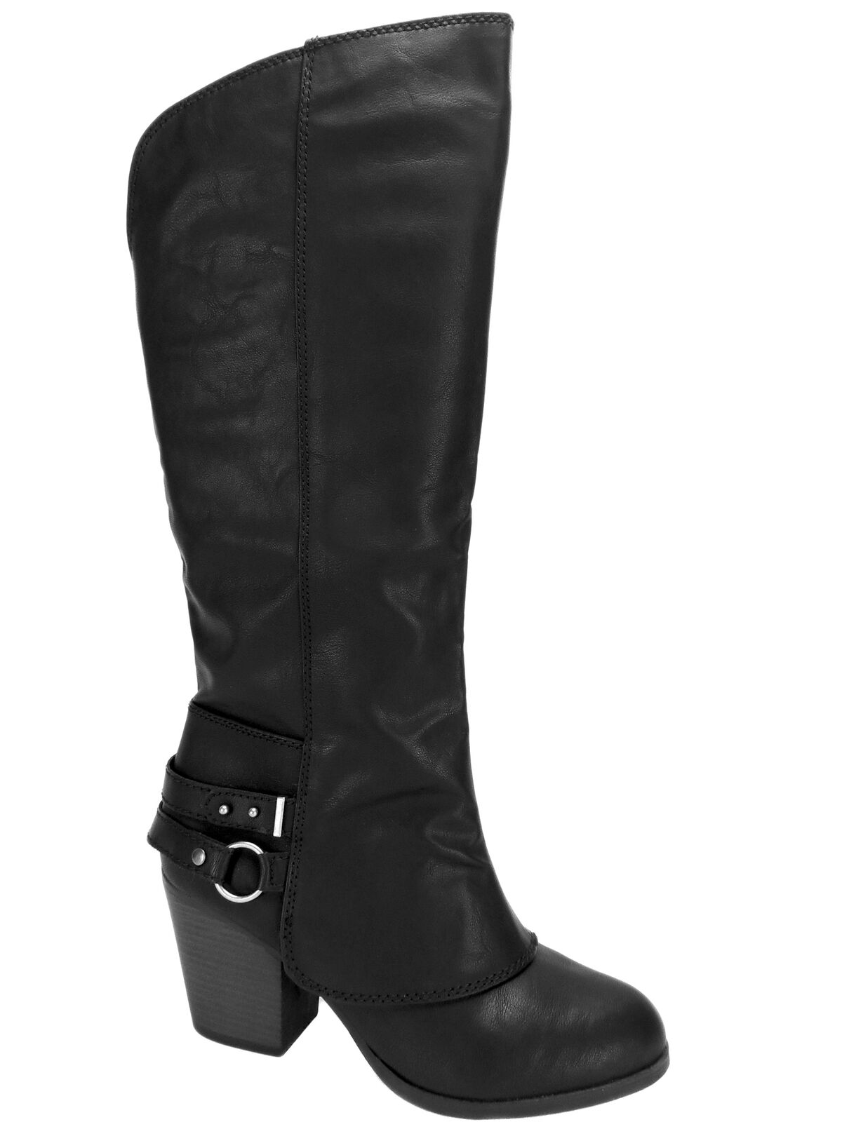 American Rag Women's Eboni Cuffed Cuffed Cuffed Boots Black Size 10 Size M f2d0d2