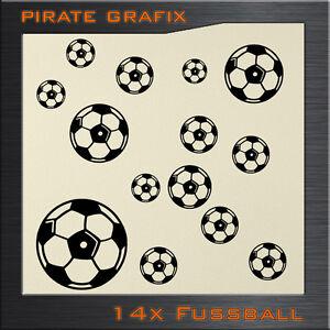 Details Zu Wandtattoo Fussball Balle Wandbild Kinderzimmer Sport Bundesliga Sticker Set Top