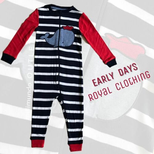 Baby Strampler EARLY DAYS Einteiler Schlafanzug England 86 92 98 Overall TOP