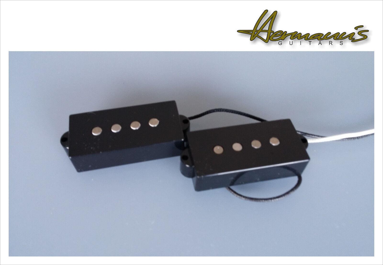 Precision Bass Vintage 60s pick up Set, Alnico V bacchetta MAGNETI, handwound, 8,6k