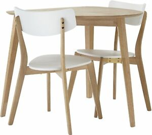 Image Is Loading New Tesco Charlie 2 Seat Dining Table And