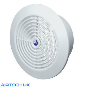 Internal Ventilation Grille Round White 4 Quot 100mm Duct Extractor Fan Bathroom T64 Ebay
