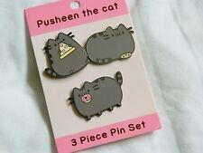 Pusheen Cat Pin Set - Subscription Box Spring 2016 - RARE 3 Piece Exclusive!