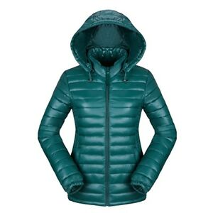 Factory-Sale-2018-Women-039-s-Ultralight-Hooded-Down-Parka-Jacket-Coat-Uniqlo-Style