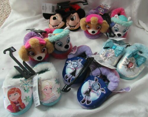 Kids Paw Patrol Frozen Mickey Mouse Vampirina Slippers House Shoes Choose Style