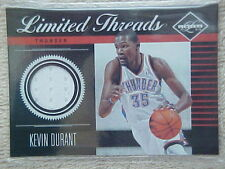 KEVIN DURANT 2011-12 PANINI LIMITED THREADS JERSEY CARD #35 58/99