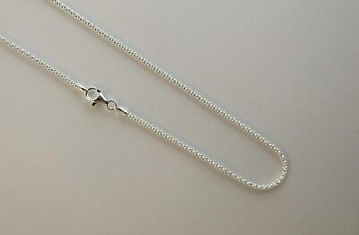 ".925 Sterling Silver Long Curb Link Chain Necklace 1.5mm 16/"",18/"",20/"",24/"",30/"""