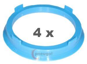 3 x anillas de centrado anillo distanciador para llantas de aluminio s80 74,1-72,6 mm CMS dBV