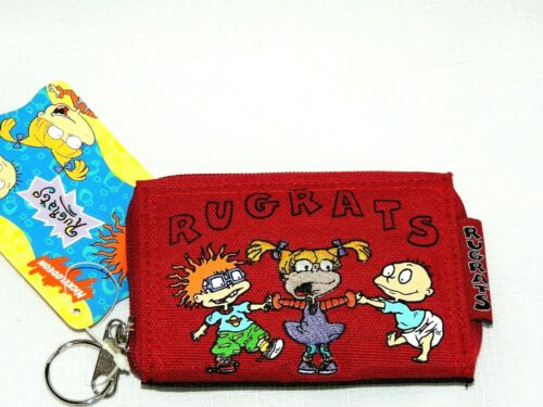 """NEW W// TAGS RUGRATS~~  1-RED  1999 VIACOM    COIN  WALLET  4 1//2/"""" X 3 1//4/"""""""