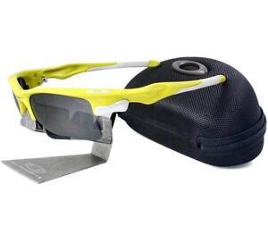 a8218aaa9b5 Oakley Custom FAST JACKET XL Lemon Peel Frame Black Iridium Lens ...
