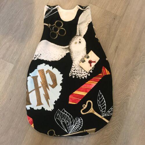 Harry Potter Inspirado Bebé Saco de dormir 2.5-3 Tog lana de 0-18 meses