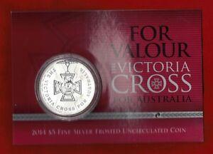 2014-Australia-Victoria-Cross-Five-Dollars-Coin-1oz-silver-uncirculated