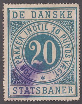 Used State Railway Package Stamp