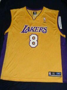 Reebok Los Angeles Lakers Kobe Bryant #8 NBA Basketball Jersey ...