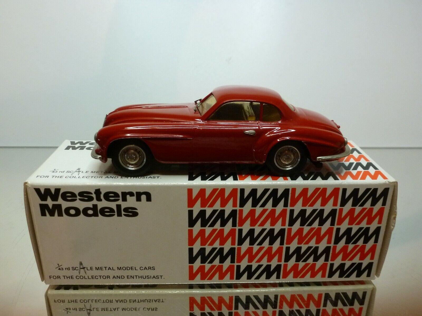 Venta en línea precio bajo descuento WESTERN MODELS ALFA ROMEO VILLA d'ESTE COUPE - rojo rojo rojo 1 43 - VERY GOOD IN BOX  ventas en linea