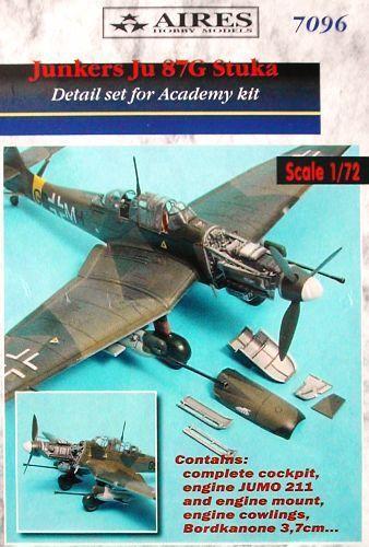 Aires 1 72  Junkers Ju87G Stuka Detail Set