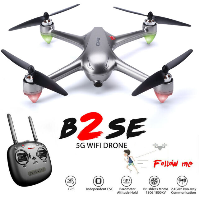 MJX B2SE Brushless FPV Drone with 5G Wifi 1080p HD Camera RC Quadcopter GPS RTF