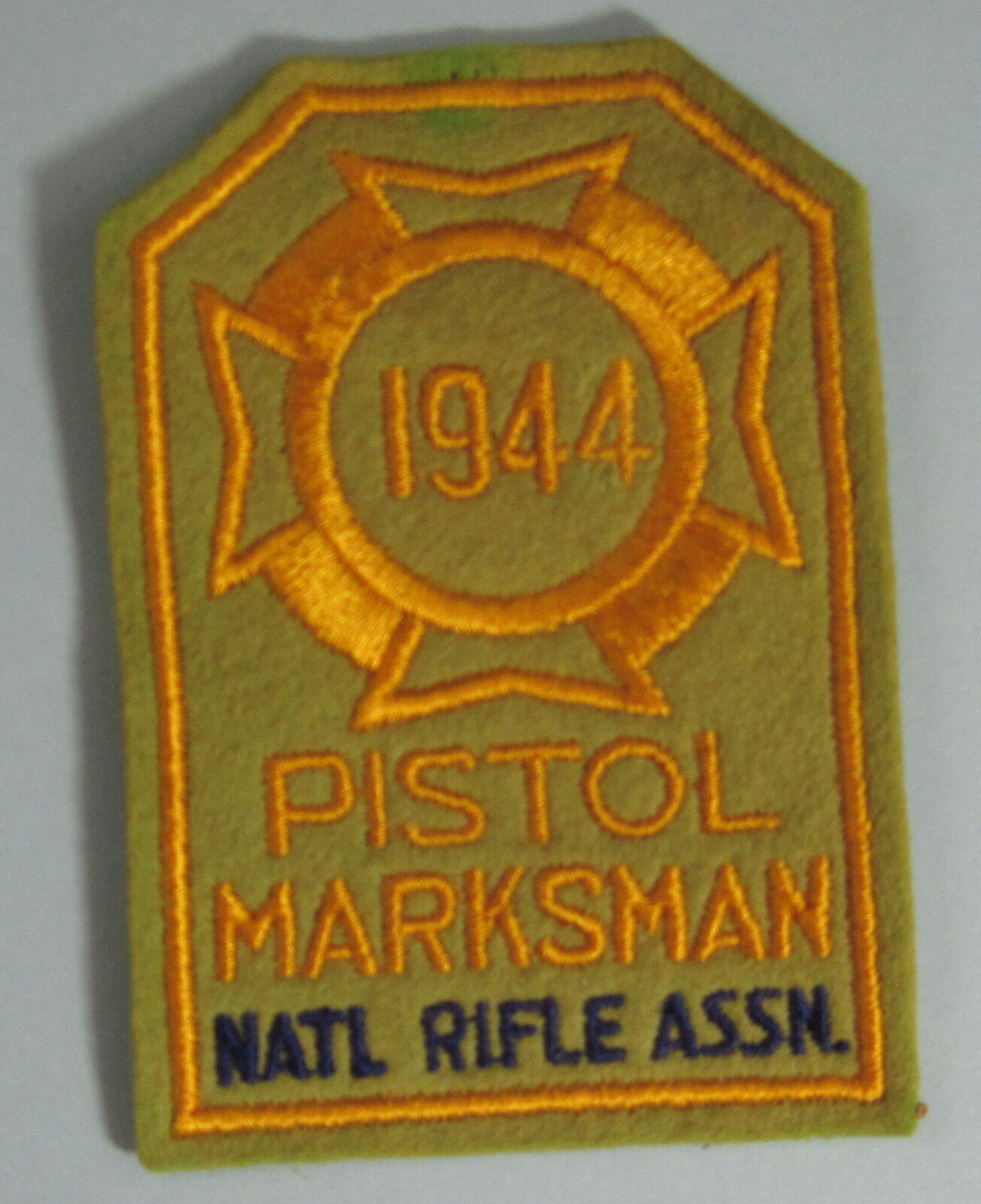 1944 1944 1944 Pistol Marksman NRA Patch...Free Shipping 8fb5ec