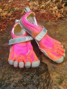 wholesale dealer 6c6e7 2c300 Image is loading Vibram-FiveFingers-Bikila -W343-Minimalist-Barefoot-Shoes-Size-