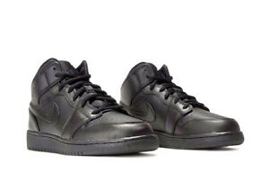 best sneakers 6995f 82093 Image is loading Nike-Air-Jordan-1-Mid-BG-554725-030-