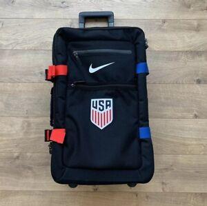 comprar original salida online venta caliente online Nike USA USMNT FiftyOne49 Cabin Roller Luggage Bag Black Red Blue ...