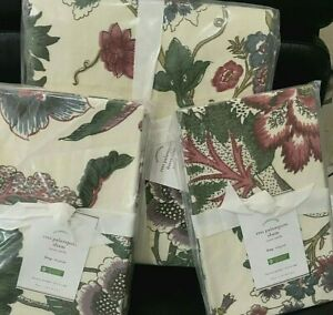 Pottery Barn Resi Floral Palampore King Duvet 2 King Shams
