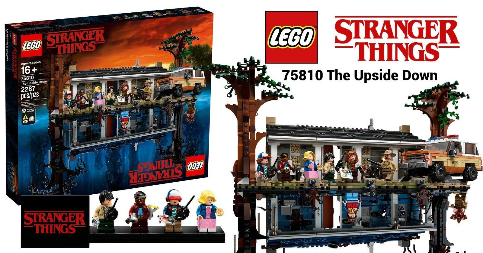 NEW Lego Stranger Things The Upside Down Set 75810 12 8