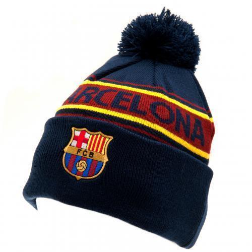 a9baca85d6c ... ireland fc barcelona knitted striped ski hat 4b020 6fde3