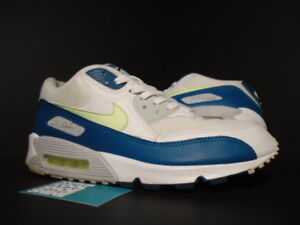 the best attitude e1c64 dd998 Details about 2008 Nike Air Max 90 JD SPORTS EUROPE WHITE LIME SPRUCE GREEN  GREY 309299-132 11