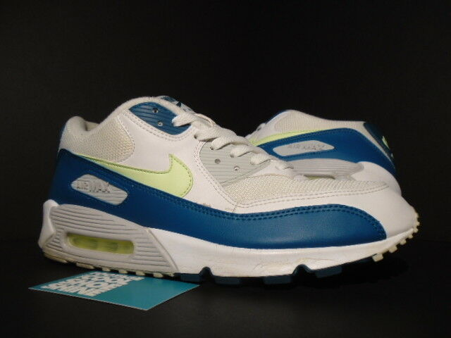 sale retailer edf97 09222 2008 Nike Air Max 90 JD Sports Europe White Lime Spruce Green Grey  309299-132 11 for sale online   eBay