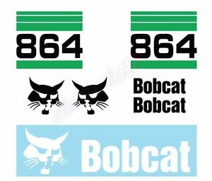 Set of 2 BOBCAT Logos You Pick Style SKID STEER LOADER VINYL DECAL STICKER