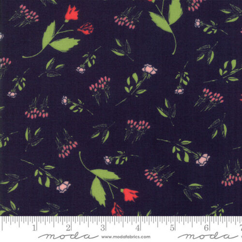 Quilt The Front Porch Navy 37541 17 by Sherri /& Chelsi for Moda Fabrics