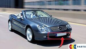 Nuevo-Genuino-Mercedes-Benz-SL-R230-Parachoques-Delantero-Rejilla-inferior-Centro-Cubierta