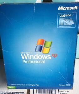 Constructif Microsoft Windows Xp Professionnel Mise à Jour Veuillez Lire-afficher Le Titre D'origine