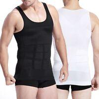 Men's Body Girdle Slim Tummy Stomach Belly Shaper Vest for Men Male Corset Tank