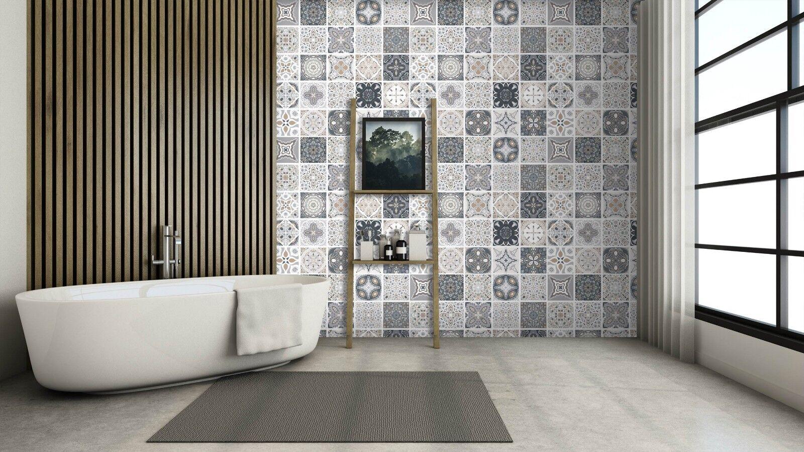 3D Muster Graue Blaume 8 Textur Fliesen Marmor Tapeten Abziehbild Tapete Wandbild