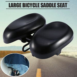 Wide-Big-Bum-Bike-Bicycle-Cushion-Sporty-Soft-Gel-Cruiser-Comfort-Saddle-Seat-US