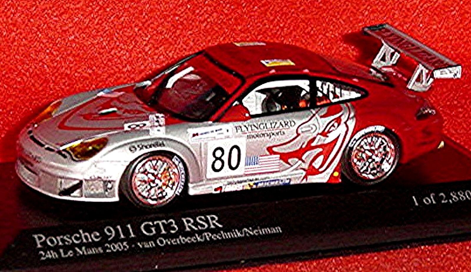 Porsche 911 GT3 Rsr 24h Lemans 2005  80 Van Overbeek Pechnik Neiman 1 43 Minicha