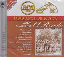 Banda El Recodo CD NEW 100 Anos De Musica 2 CDs Y 40 Temas SEALED