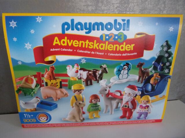 Calendrier Avent Duplo.Playmobil 123 Christmas On The Farm Advent Calendar Family