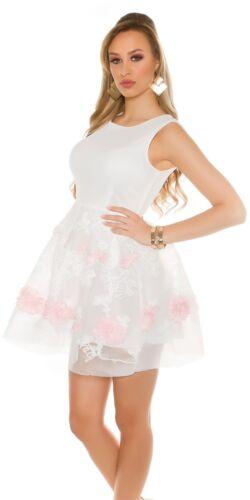 Koucla Cocktail Kleid Party Skater Minikleid Abendkleid