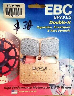 FA347HH 2013 Triumph Street Triple R EBC Sintered Double H Front Brake Pads 2 Sets