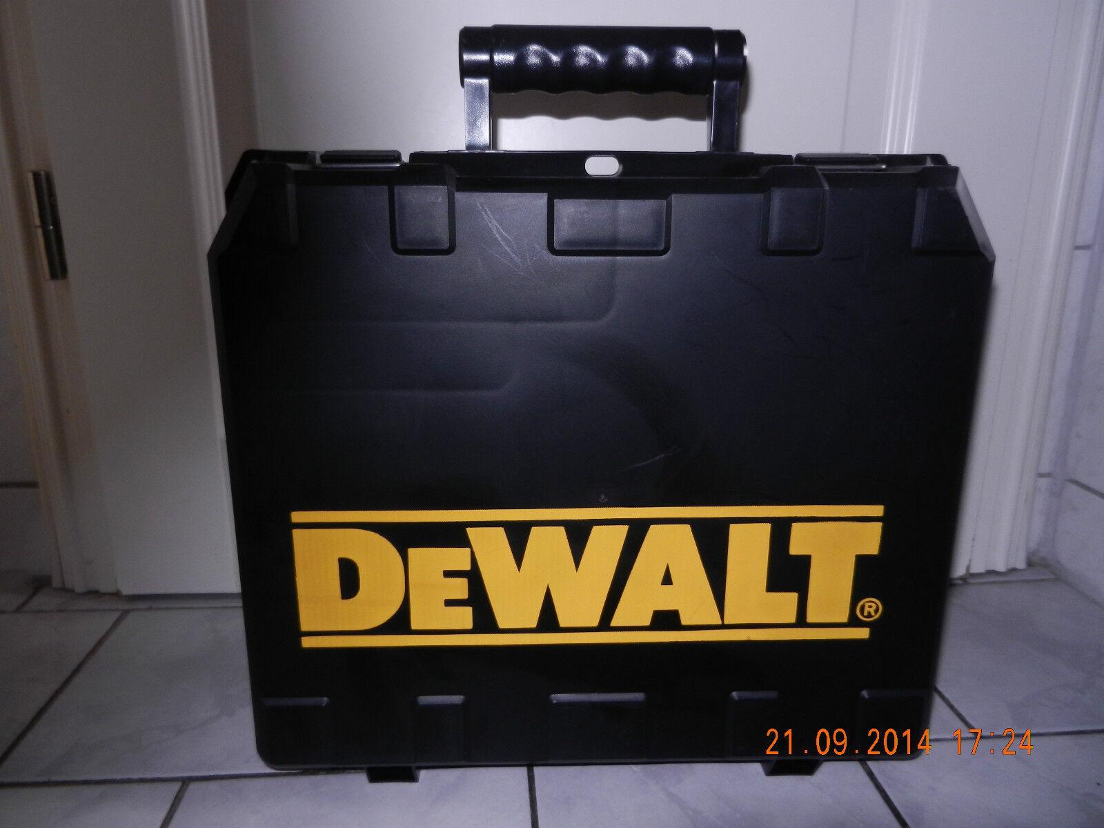 DeWalt Werkzeugkoffer für DCD925L2 Akkuschrauber mit Handbuch,ungebraucht   NEU