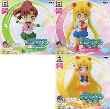 Sailor Moon Atsumete for Girls Figure Vol.2 set of 3 Banpresto (100% authentic)
