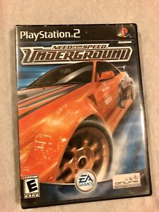 Need-for-Speed-Underground-PlayStation-2-PS2-Complete-With-Case-Manual-And-Game